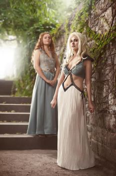 Daenerys and Margaery by ONE-Photographie
