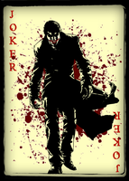 Joker Card by Xgiroux23