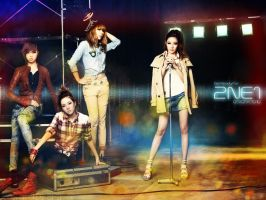 2NE1 - To Anyone Wallpaper by textureclad
