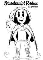 UNDERTALE OC by Cookie-and-her-foxes