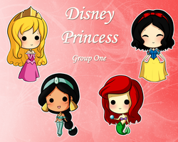 Disney Princess - Group One by SweetUndine