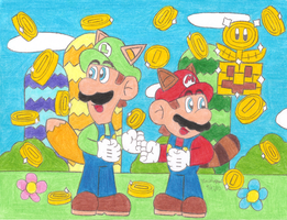 New Super Mario Bros 2 by MarioSimpson1