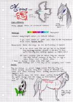 Animus breed sheet -temporary- by saphiraly