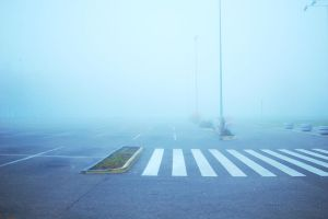 The Fog is Crossing Road by SmileyG