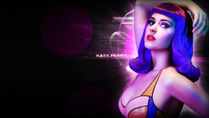 Katy Perry Wallpaper by Amoagtasaloquendo