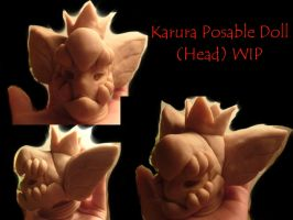 AnE Karura Posable Doll [Head] WIP by BeastSoul