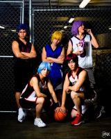 Kuroko no Basket: All stars by SoCoPhDPepper