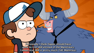 What Dipper SHOULD have done by jellyjammfan