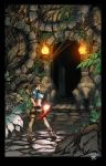 Tomb Raider: colored by VehementStudios