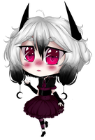 Chibi Ophelia {Witch OC by BunnyDynamics