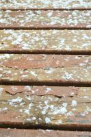 Deck and Snow 1 by Jessica-AuBuchon