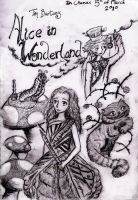"Alice in Wonderland ""4Contest"" by BrideOfMaggots"