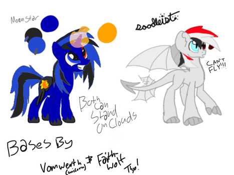 Moon Star (MDC) and Death Spell (Me) Ref by Doodleist-the-Artist
