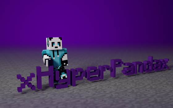 xHyperPandax - Minecraft Background Request by flamingpegasus