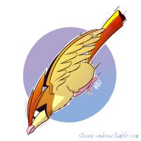 017 - Pidgeotto by steven-andrew