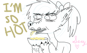 i really like noodles a lot by rabbitrabies
