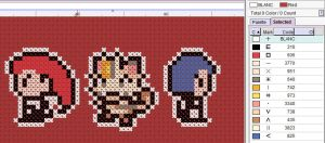 Team Rocket Cross Stitch Pattern by puppyrock3