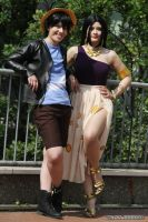 Luffy and Robin - Z Movie Outfit No. 2 | I by Wings-chan