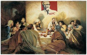 last dinner with kfc  and pepsi by art4designs