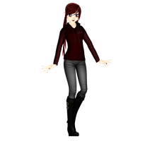 MMD OC Winter Alaina by Theshadowman97