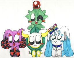 The others mascot by V-P-aurore-star