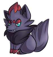 Day 17: Zorua by PrinceofSpirits