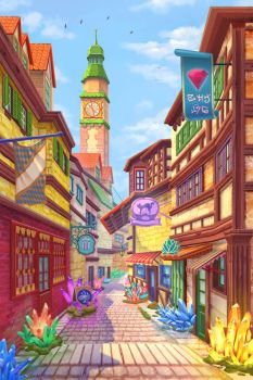 Daily Main Street by Azot2017