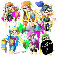 Splatoon! by drivojunior