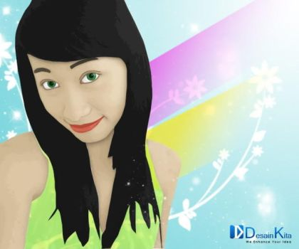 Girl Vector by puzzleinc