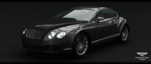 Bentley Continental GT Speed (pic-1) by Siegfried-Ukr