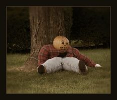 Pumpkinhead Scarecrow by syrenemyst