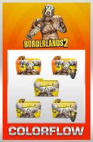 Colorflow Borderlands 2 Folders by TMacAG