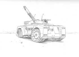 Marksman Light Assault Vehicle by DissidentZombie