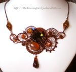 Sunset Cloud by blackcurrantjewelry