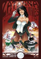 Zatanna and the Justice Bunnies by 13wishes