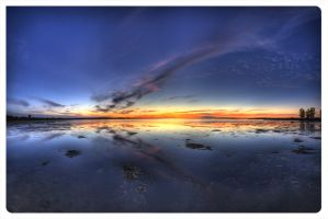 Sunset Panorama by AmirNasher