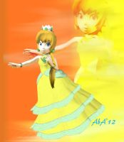 Commish: Princess Daffodil 'offical' by AwesomebyAccident
