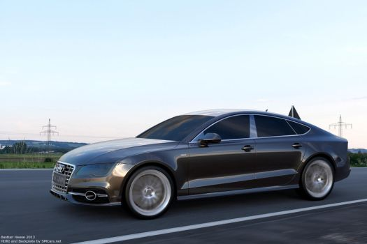 Audi S7 Sportback on the road by user121o