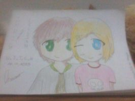 Chris and Lillian --requested by:Hillygon-- by IceScream99