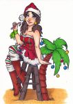 X-Mas collab with Chelsey Austin by Shiroichi-chan