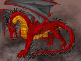 A dragon by Hotica