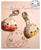 Panty Onigiri Charms by olamo