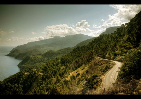 The Tramuntana Road by Beezqp