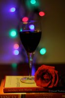 Wine. Rose. Bokeh. by JosephTimbury