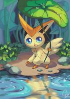 Victini by ShadeShark