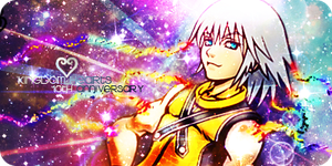 10th Anniversary Set - Riku KH1 by Ashesofdawn253