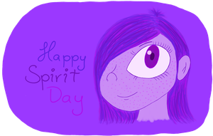 Happy Spirit Day 2012 by WeirdLittleZombie