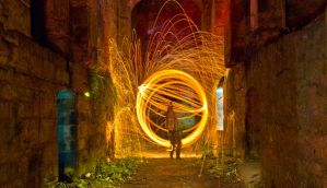 Light spinning by BusterBrownBB