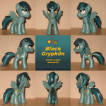 Custom Black Gryph0n by AleximusPrime