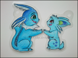 Commission: Nid and Vap by Kitka